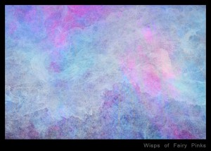 Wisps of Fairy Pinks Texture