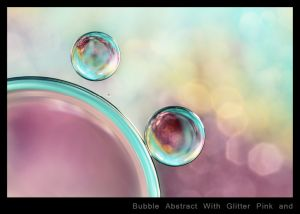 Bubble Abstract With Glitter Pink and Blue.jpg