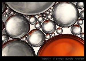 Mercury & Bronze Bubble Abstract.jpg