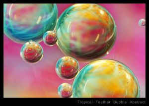 Tropical Feather Bubble Abstract.jpg